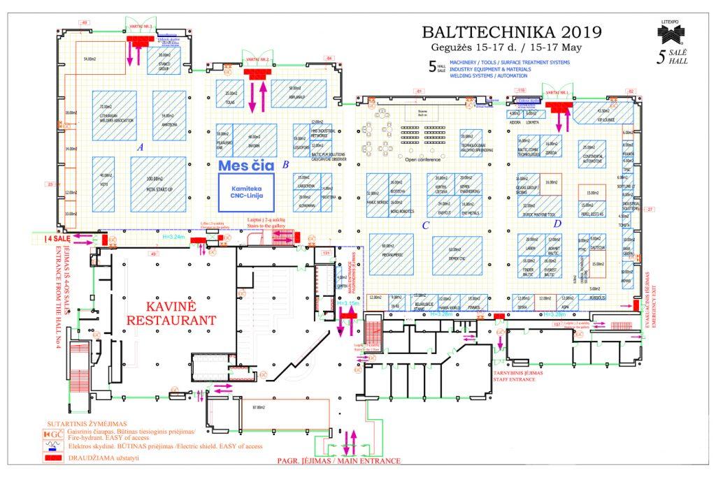 Balttechnika parodoje 2019 metais, gegužės 15-17 dienomis bus pristatytas vienas greičiausių ir efektyviausių lazerinių staklių Europoje: KIMLA su linijiniais varikliais: 3000x1500mm su besikečiančiu stalu ir 6kW lazeriniu šaltiniu IPG.